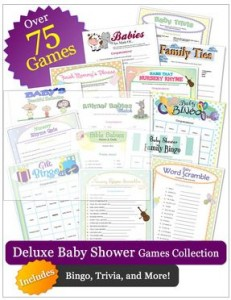 Printable Baby Shower Games for Church Event Coordinator