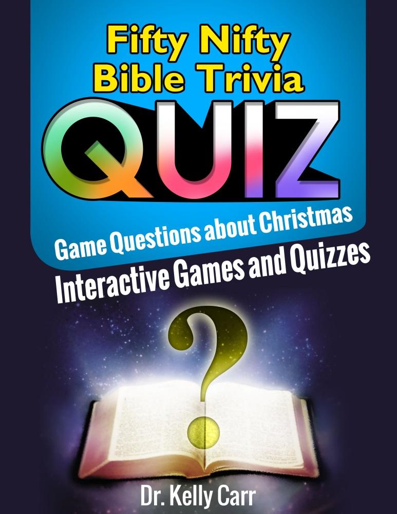Christmas Bible Trivia Quiz Game Book