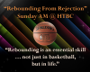 Rebounding from Rejection Sermon